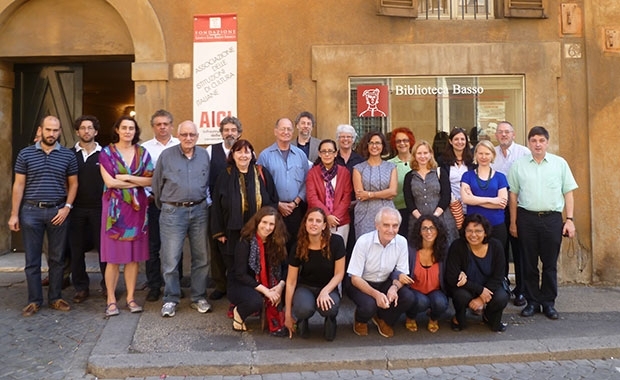 Rome conference attendees