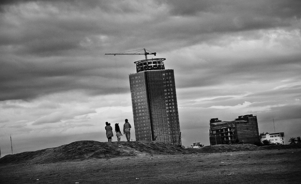 BW building wasteland