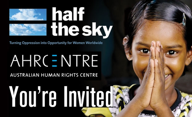 Half the Sky film premiere and panel discussion
