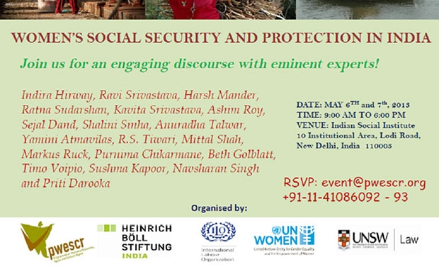Women's Social Security and Protection in India