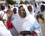UN Photo Darfur protest against VAW